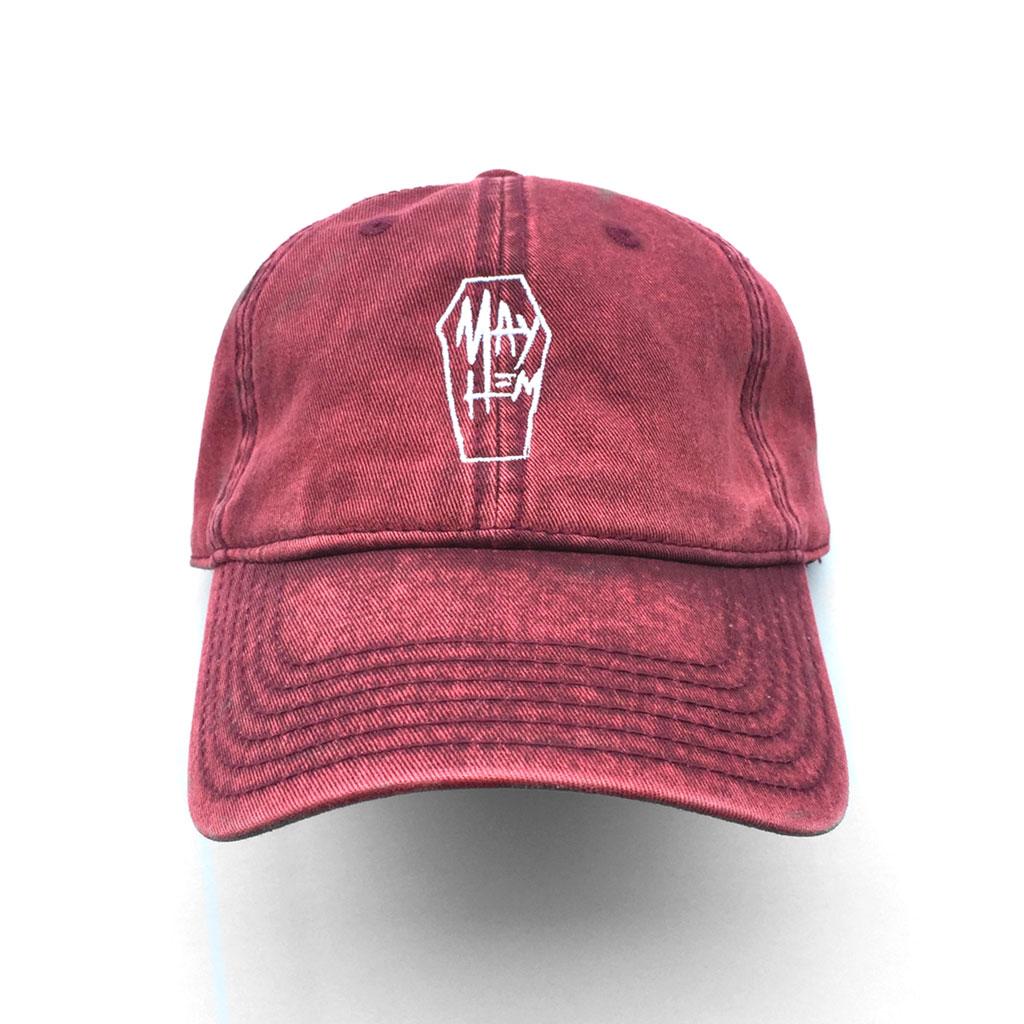 3b88f9d2e38eaa COFFIN-STRAPBACK-DAD HAT - MAYHEM SUPPLY Co.